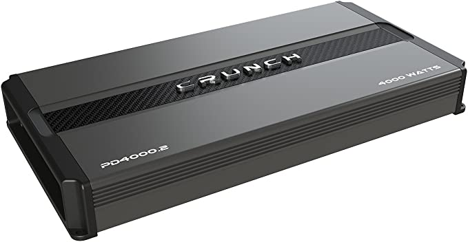Crunch Power Drive PD4000.2 Bridgeable Amplifier (Pro Power, 4,000 Watts Max, Class Ab 2-Channel)