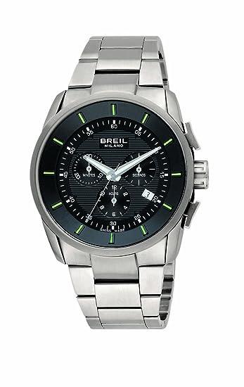 Breil Milano BW0491 - Reloj de caballero de cuarzo, correa de acero inoxidable color plata: Amazon.es: Relojes