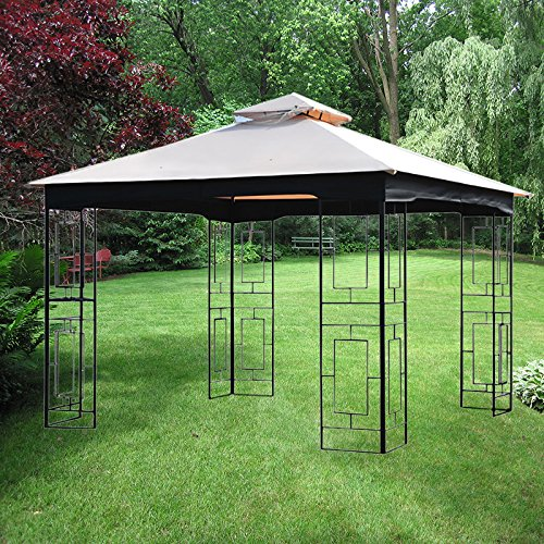 Garden Winds Replacement Canopy for GT Geo Gazebo-RipLock 350