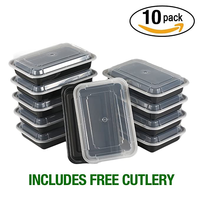 8 opinioni per Meal Prep Containers 1vano di Nimnik, 10Pack lunch box Bento box, contenitore