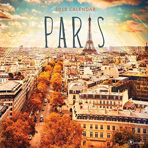 2018 Paris Wall Calendar