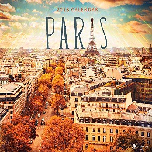 2018 Paris Wall Calendar PDF