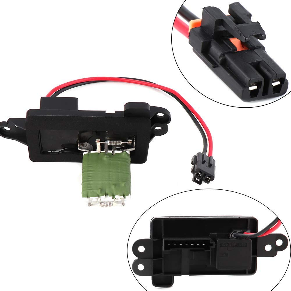 Ac Blower Motor Resistor With Harness 973405 For Chevy Silverado Wiring To Tahoe Suburban Avalanche Gmc Sierra Yukon