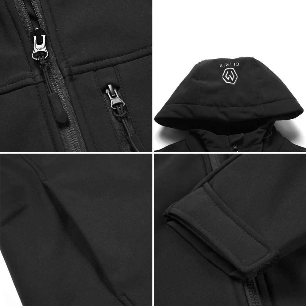 CLIMIX Men's Heated Jacket Kit with Battery Pack (L) by CLIMIX (Image #5)