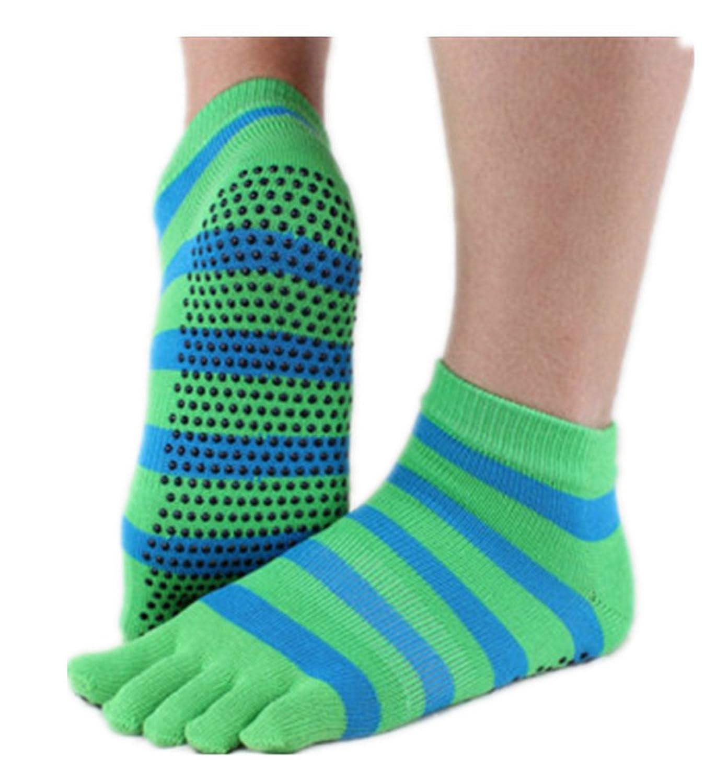 Mullsan Women's Yoga Toe Socks With Full Grip