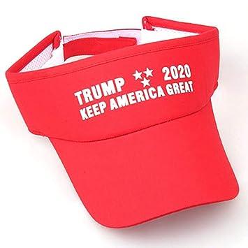 YUANBAOG New Trump Hat Presidente elecetion Blank Top Verano Gorra ...