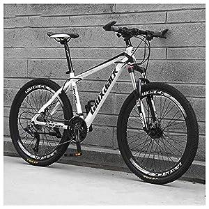 61jP4D68dcL. SS300 26 Pollici 21 velocità, Adulto Bicicletta MTB, Bicicletta Mountain Bike, Bicicletta, Biciclette, Doppio Freno A Disco…
