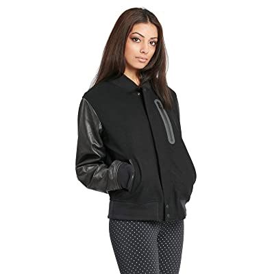 Nike Womens Essential Destroyer Jacket Black/Black 908642-010 (Large): Clothing