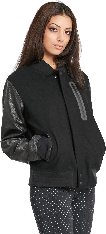 electo Tener cuidado Ese  Amazon.com: Nike Womens Essential Destroyer Jacket Black/Black 908642-010  (Large): Clothing