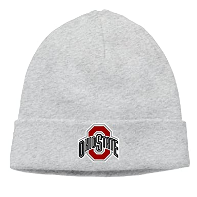 sports shoes 880f0 f6b78 Ohio State Buckeyes Football Urban Meyer Skull Ski Hat Slouchy Beanie at  Amazon Men s Clothing store