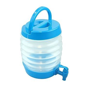 Dispensador de plástico para bebidas con grifo, sin BPA, apto para lavavajillas, 3.3 litros, de la marca Bid Buy Direct®: Amazon.es: Oficina y papelería