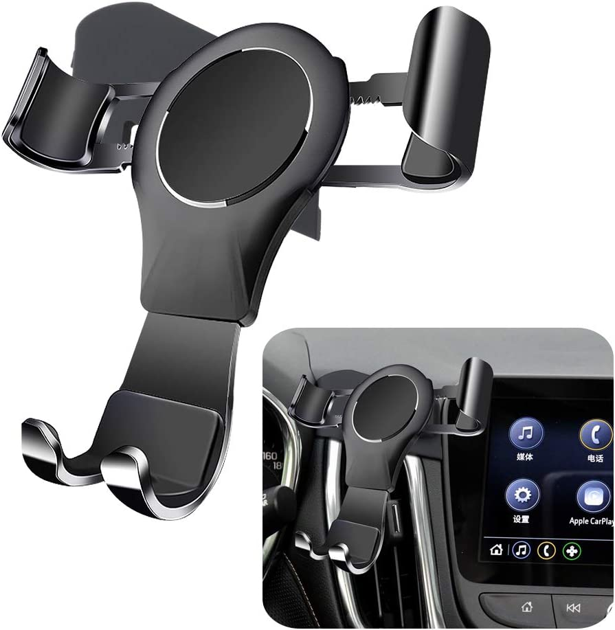 LUNQIN Car Phone Holder for Chevrolet/ Equinox SUV 2018-2020 Auto Accessories Navigation Bracket Interior Decoration Mobile Cell Phone Mount
