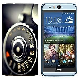 TECHCASE---Cubierta de la caja de protección para la piel dura ** HTC Desire Eye ( M910x ) ** --Macro de frutas helado de frutas