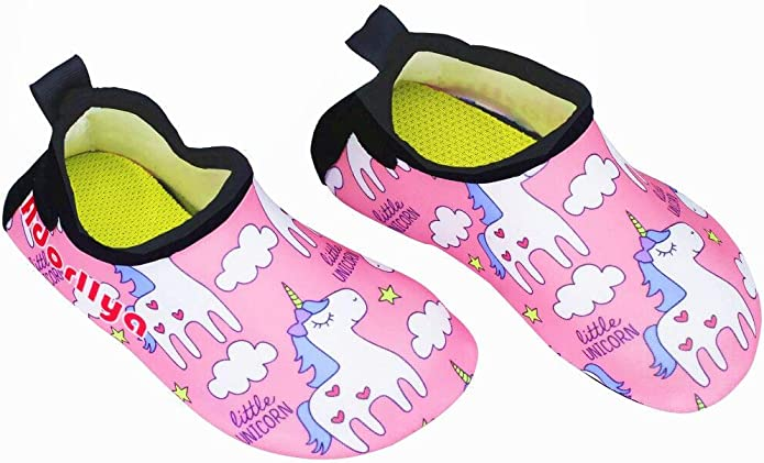5//6 Aqua Shoe Water Shoe Toddler Blue Lifeguard Activity Shoe Grip Socks Outdoor Shoe Sz
