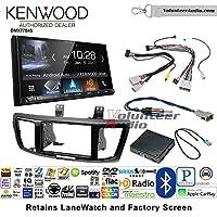 Volunteer Audio Kenwood DMX7704S Double Din Radio Install Kit with Apple CarPlay Android Auto Bluetooth Fits 2013-2015 Honda Accord