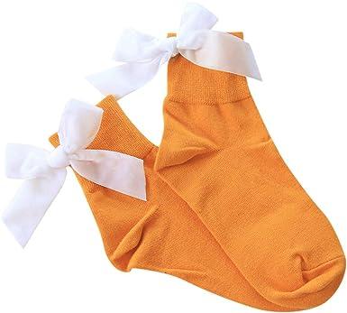 YWLINK Mujer El Verano Retro Arco Medias Medias Calcetines Calcetines Lindos Calcetines De Algodon Moda Casual Transpirable CóModo Antideslizante: Amazon.es: Ropa y accesorios