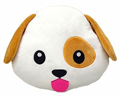 Amazoncom Wep Dog Puppy Emoji Pillow Emoticon Cushion Plush Soft