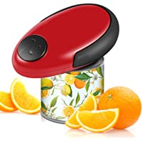 Electric Can Opener, Smooth Edge Automatic Can Opener for Any Size, Best Kitchen Gadget for Chefs, Arthritis and Seniors