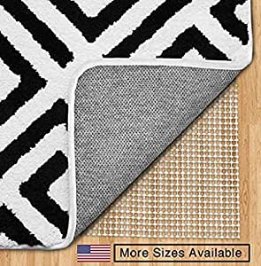 Grip Non-Slip Area Rug Pad Carpet Backer 5 x 7 -Ft NEW