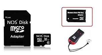 Amazon.com: nosdisk 32 GB (Clase 10 de alta velocidad) Combo ...