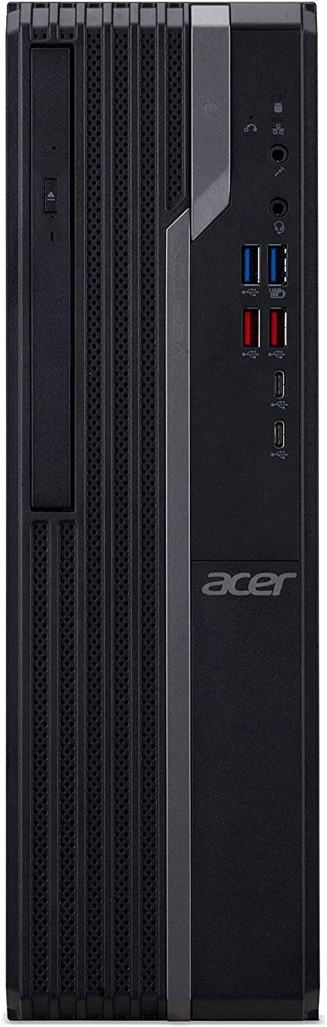 Acer Veriton VX4660G-I3810H1 Desktop, 8th Gen Intel Core i3-8100, 4GB DDR4, 500GB HDD, 8X DVD, Windows 10 Professional