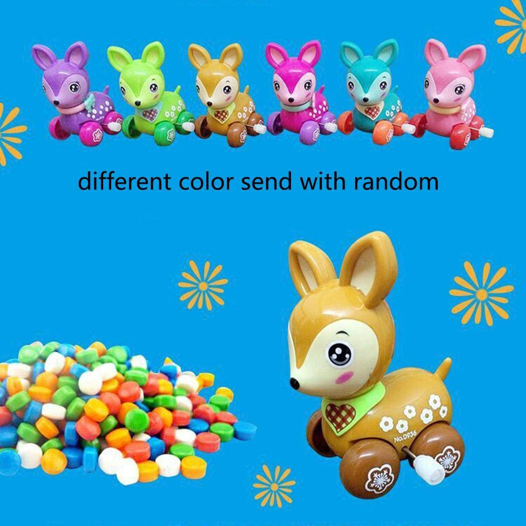 Kizaen 4Pcs Assorted Wind-up Toys Animals for Kids Party Favors Children's Birthdays Gifts by Kizaen (Image #3)