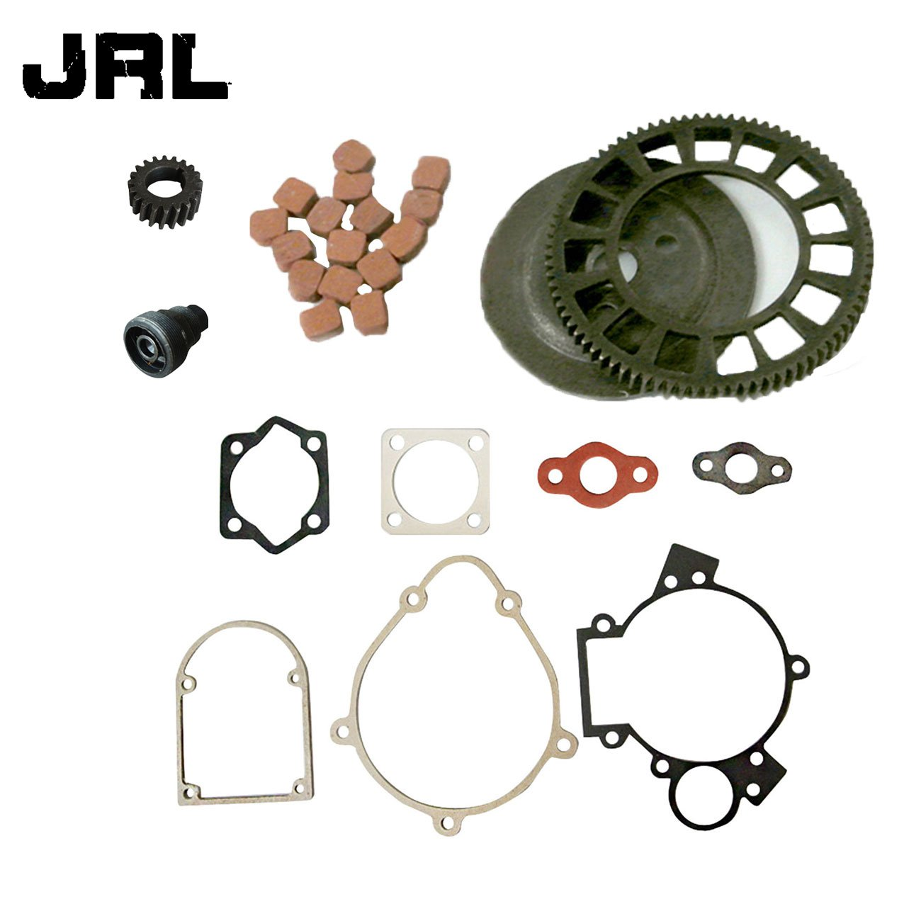 JRL Clutch Big Bevel Gear Friction Pads&Clutch Puller For 66/80cc Motorized Bicycle Huang Machinery
