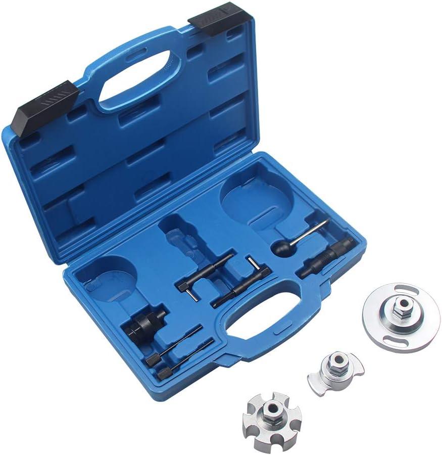 UTMALL Diesel Engine Timing Tool Set for VAG 2.7 /& 3.0 TDI /& TDI CR Audi A4 A5 A6 AB Q5 Q7