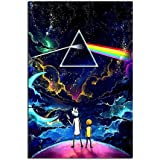 yuhui Rick and Morty Canvas Art Poster and Wall Art Family Bedroom Decor