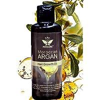 PEECURE Moroccan Argan Hair Fall Treatment Growth Oil (With Pure Argan,Tea Tree,Coconut, Jojoba, Almond, Castor, Olive, Avocado, Rosemary Oils) for men & women