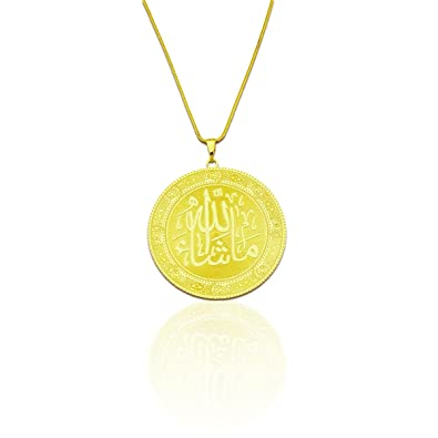 zone pendant with gold chain real hollow heart big products