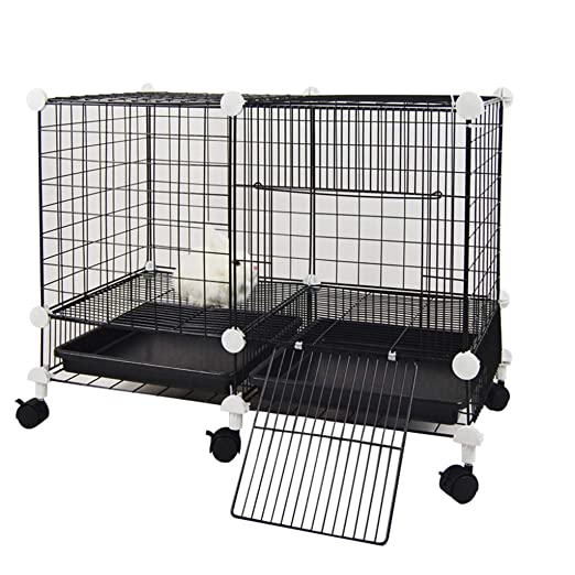 LTLJX Interior Jaulas para Gatos, Grandes Jaulas para Perros ...