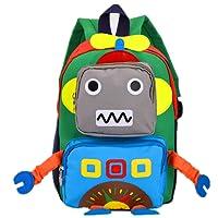 TeMan Children Backpack Kindergarten Cartoon Schoolbag for Kids