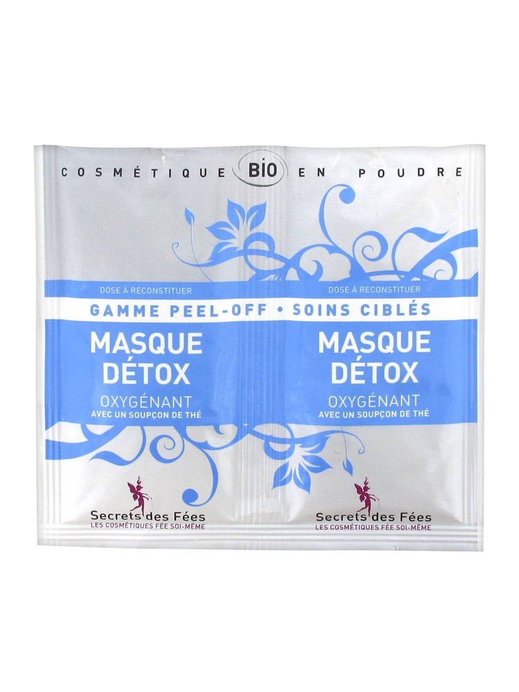 Secrets des Fées Masque Détox Oxygénant 2 x 8 g 7818