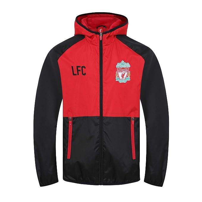 Liverpool FC - Chaqueta cortavientos oficial - Para niño - Impermeable -  Estilo retro  Amazon.es  Ropa y accesorios 2679e201b64e4