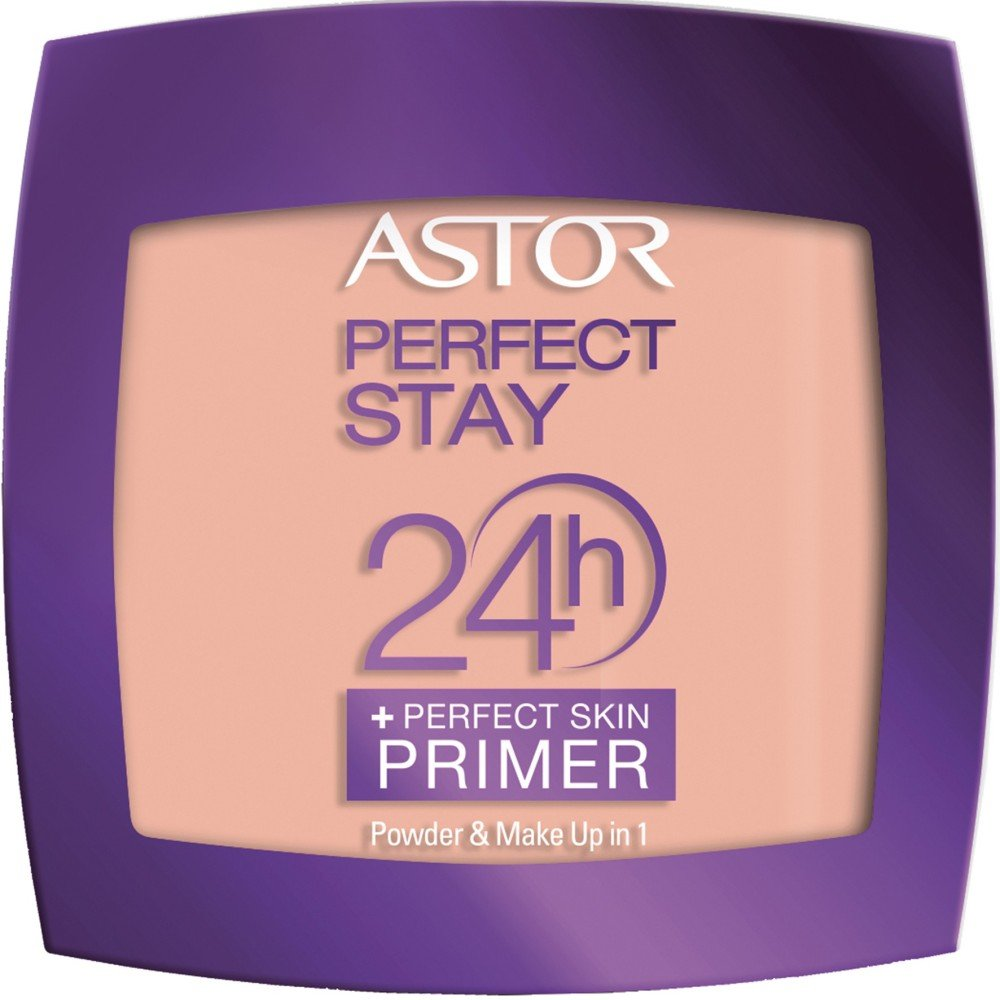 Astor Perfect Stay 24h Powder Plus Perfect Skin Primer, 200 Nude, 1er Pack (1 x 7 g) 26005012200