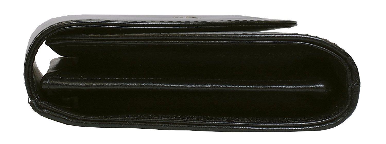 Bosca Old Leather Clutch (Black)