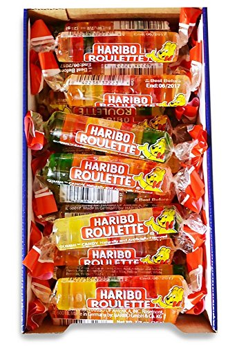 1.5 Ounce Roll (Haribo Roulettes KsIvcA, 1.5 oz rolls, 72 Count)