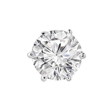 énorme réduction da248 d8895 1 pour homme 18 carats à 6 griffes avec diamant Solitaire ...