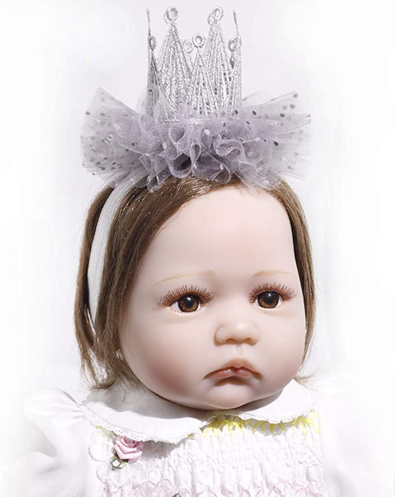 Baby//Girl Toddler Gold//Silver Star Elastic Stretch Party Headband Hairband HC