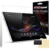 [Pack de 3] TECHGEAR® Sony Xperia Z2 Tablette Film de Protection Ultra Clair pour Écran LCD avec Chiffon de Nettoyage