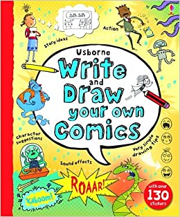 write and draw your own comics howard hughes 9781409564256 amazon