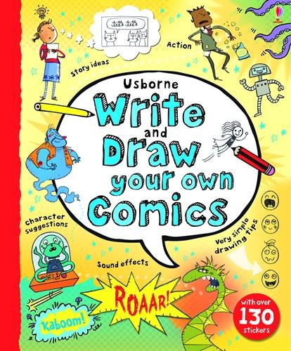 Write and Draw Your Own Comics (How To Draw Comic Books)