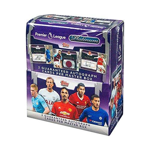 2018 Topps Platinum Premier League Soccer Hobby (Platinum Hobby Box)