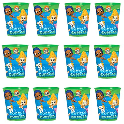 BirthdayExpress Bubble Guppies Favor Cup 12Pk -