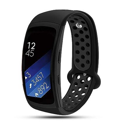 Amazon.com : Feskio for Samsung Gear Fit2 PRO/Fit2 Watch ...