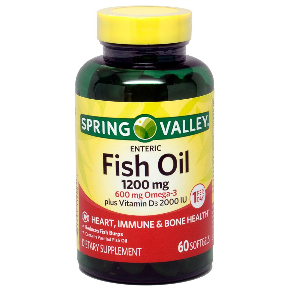 Spring valley super b complex metabolism for Multivitamin with fish oil