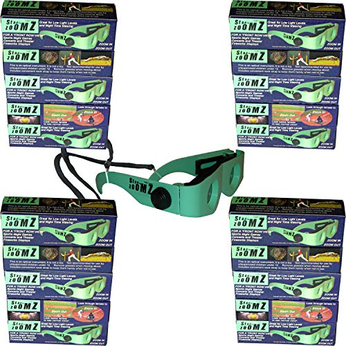Lot of 20 Nite Vision Binocular Glasses, Low Light Levels, aid for Macular Degeneration Patients to See Faces and TV Again. Below Wholesale Cost.