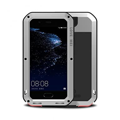 the best attitude 5e890 d6464 Simicoo Huawei P10 Aluminum Metal Bumper Heavy Duty case Rugged ...