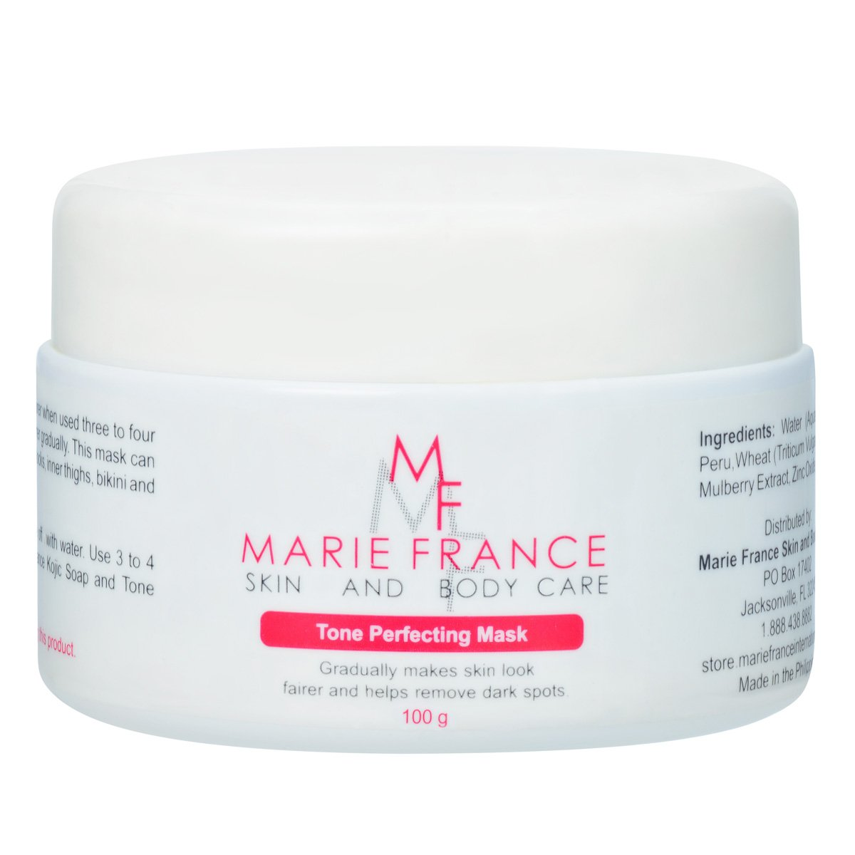 Marie France Tone Perfecting Mask - Butt, Inner Thighs and Intimate Area Whitening Mask